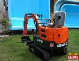 Mini escavadeira Semax SX10 nova 0km