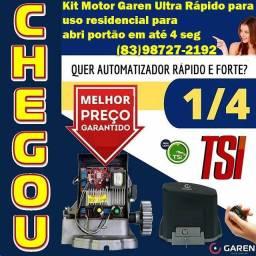 Motor Garen Ultra Rápido p/ Portão com instalação
