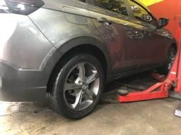 Rodas 17 com pneus 5x100