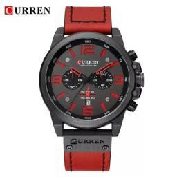 Relógio CURREN (C/ Cronógrafo) 8314 Vermelho