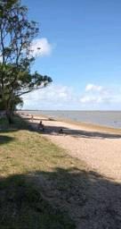Arambare de frente para lagoa