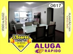 Manaíra, Mobiliado, 3 qts, suíte, 128m², R$ 3000 C/Cond, Aluguel, Apartamento, João Pessoa