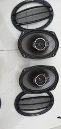 Par de falantes 6x9 pioneer 400w