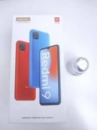 O melhor de 2021! REDMI 9 4/64 GB da Xiaomi. NOVO lacrado Garantia e entrega