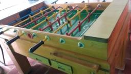 Pebolim/Totó de ficha e mesa de ping pong