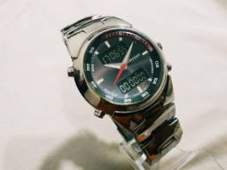 Relógio Orient revisado perfeito prova dágua