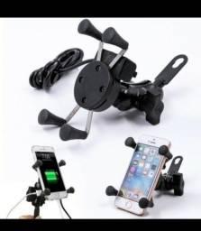 Suporte celular Garra c/ carregador