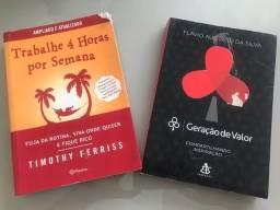 Título do anúncio: 2 Livros (20,00 cada)