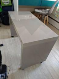 Mesa de apoio Laca cor ocre 80x40x 55cm