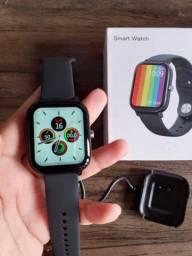 Relógio Smartwatch NO.1 DT 36 (BLACK) Faz e Recebe Ligações