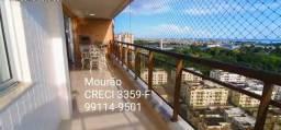 Apartamento 153m2, 3 suítes, mobiliado. Gran Vista - Vista Rio