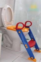 Troninho Redutor Assento Sanitário Infantil Com Escadinha Baby Style