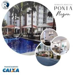 Apartamento com 2/3 dormitórios à venda, 56 m² por R$ 275,000 - Ponta Negra - Manaus/AM