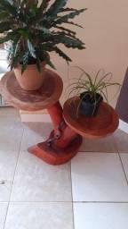 Tronqueira suporte para vasos