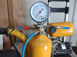 compressor  para aerografos com motor de geladeira