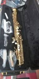 Título do anúncio: Sax Soprano Reto Hoyden