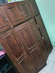 Guarda roupa de solteiro 4 portas