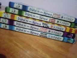 Livros Diario de um Banana 2, 3, 4, 5 e 6