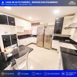 Casa no Bosque das Palmeiras - 4 quartos -350m²