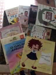 Doação livros infantil