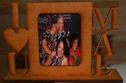 Porta retrato para o dia das mães com foto