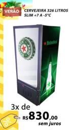 Cervejeira Expositora Slim 326 Litros