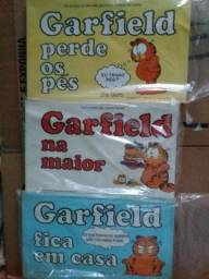 Livros do Garfield em ótimo estado de conservação