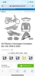 Kit carenagem biz 100
