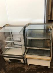 Conjunto vitrine aquecida e refrigerada para Padaria e Mercearia | Matheus