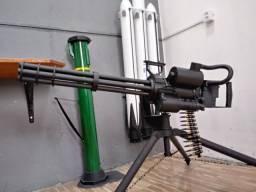 Minigun rotativa