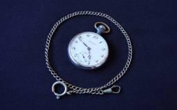 Relógio de bolso Mondaine PA 91-1 prata