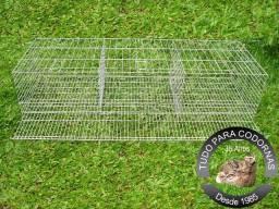 Gaiolas para Codornão (Codorna Gigante) Padrão Industrial para 30 aves