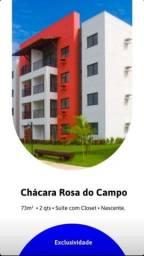 CHACARA ROSA DO CAMPO 02 ou 03 Quartos