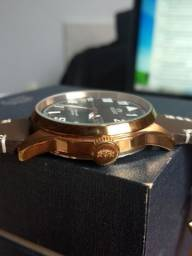 Relógio Automático (máquina exposta)  / Linha Premium da Orient (Homage IWC Big Pilot)<br>
