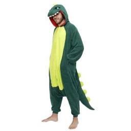 Pijama kigurumi dinossauro