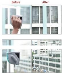 Limpador de vidraças magnético