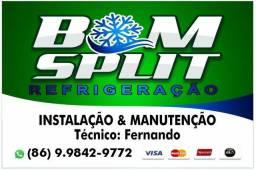 Instalação e manutenção de Split e ar condicionado