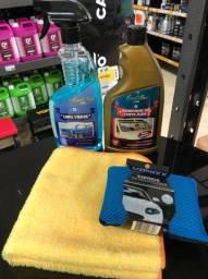 Kit Limpeza e Remoção de Chuva Ácida e Manchas de Vidros