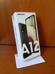 Samsung A12, 64Gb/4Gb, Câmera Quádrupla 48MP (Não sou de BH)