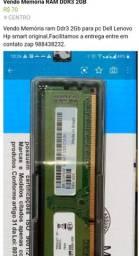 Vendo Memória DDR 3 2 GB original