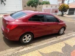 Chevrolet prisma 1.4 Lt 4p vermelho 2019