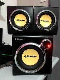 Caixa de som amplificadora pra PC