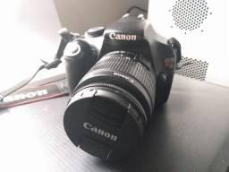 Câmera Digital Dslr Canon EOS T3 1100D Lente EF-S 18-55 mm