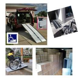 Rampa para Cadeira de Rodas,  Acessibilidade Cadeirante, Deficientes, Scooter