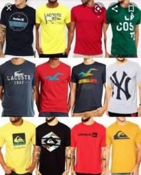 Camisetas Fio 30.1 Penteado Malha premium Atacado<br><br>