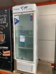 ?,.? Freezer fricon 2 anos de garantia porta de vidro