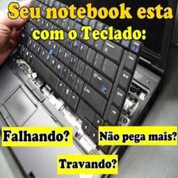 Troca de teclado de Notebook