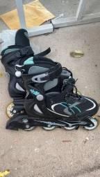 Vendo patins pouco usado