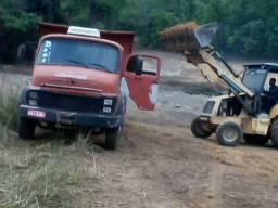 Vendo caminhão caçamba Mercedes-Benz moto 352a 1313