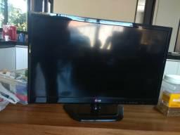 "Tv e monitor lg 24"" ESTRAGADO"